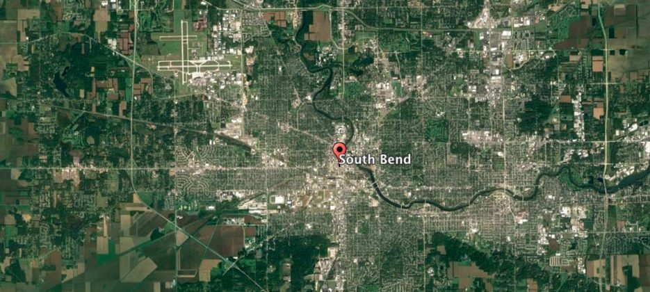 Beyond the Bend: A Google Earth Experiment